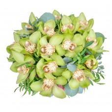 Букет из орхидеи Цимбидиум