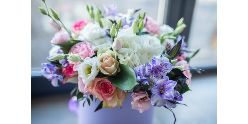 Букет цветов, как способ признания в любви
