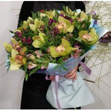 """Букет цветов """"Дикая орхидея"""""""