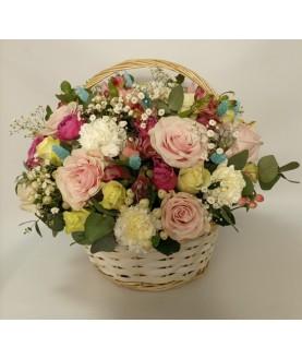 """Цветы в корзине """"Эстет"""""""