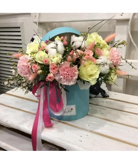 """Цветы в коробке """"Бамболейло"""""""