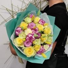 """Букет из эквадорских роз  """"Вкусный Щербет"""""""