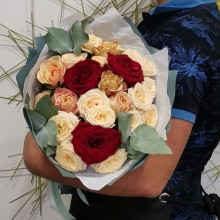 """Букет цветов """"Ласковый шепот"""""""