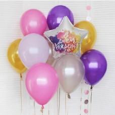 Набор шаров С Днем Рождения!