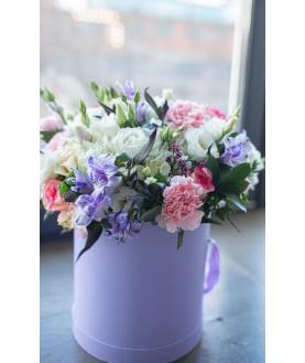 """Цветы в коробке """"Дамский каприз"""""""