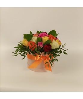 """Цветы в коробке """"Милашка"""""""