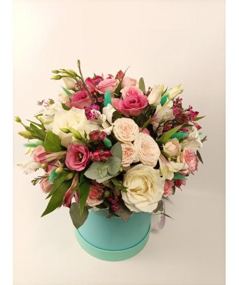 """Цветы в коробке """"Безмятежность"""""""
