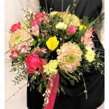 """Букет цветов """"Ангельское сердце"""""""
