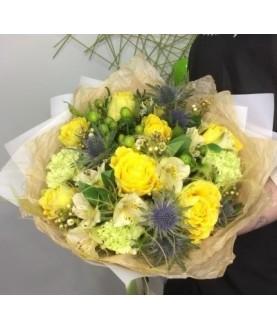 """Букет цветов""""Лимонный пирог"""""""