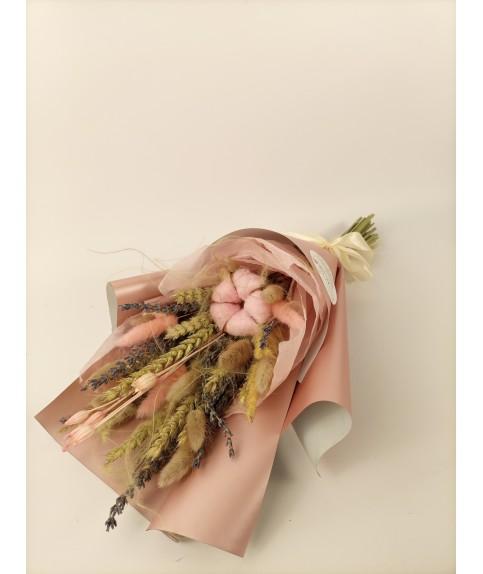 Букет из сухоцветов Нежный аромат
