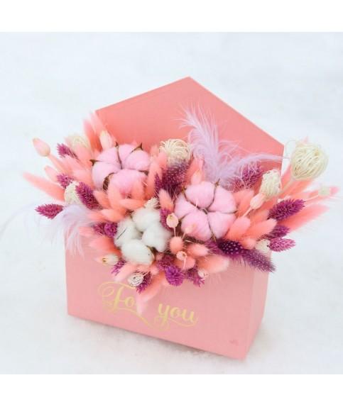 """Букет из сухоцветов """"Любовное послание"""""""