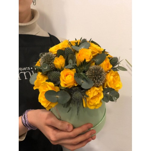 """Цветы в коробке """"Грация"""""""